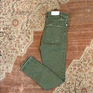 Zara The 80's High Waist Skinny Jean
